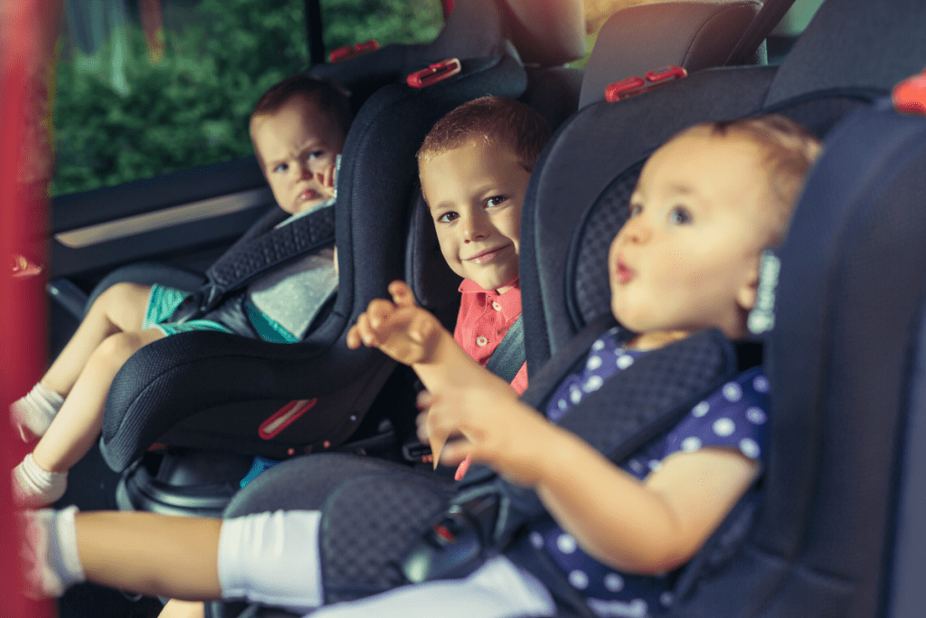 these three children know safe driving tips for their family