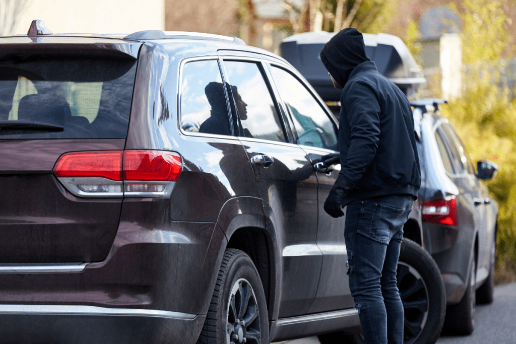 keeping your keys close is how to prevent car theft