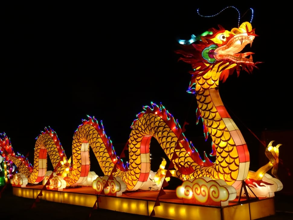 The dragon is the only mythical creature in the Chinese zodiac.