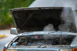 old car overheating