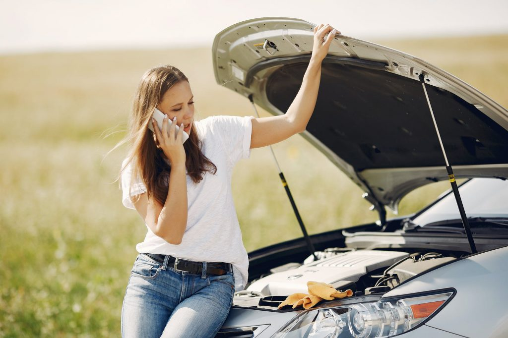 When you can't fix your dead car battery, call roadside assistance.