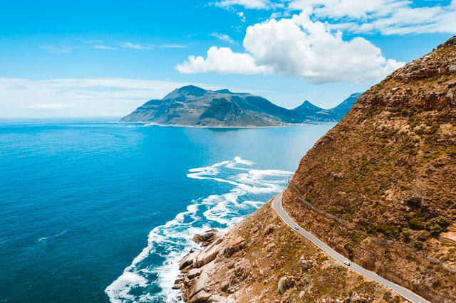 chapmans peak - one of the best roads in the world