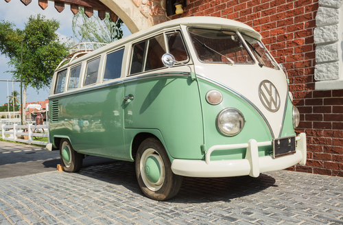are older cars like this green Combi van more expensive to insure